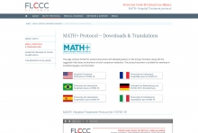 """Website of the <strong>FLCCC Alliance</strong>, USA (since 2020): <a href=""""http://www.covid19criticalcare.com"""" target=""""Websites designed by Frank Benno Junghanns"""">www.covid19criticalcare.com</a>"""